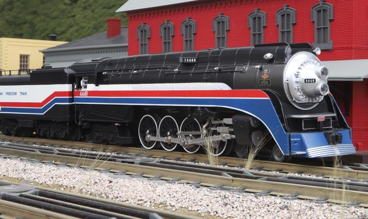Product Spotlight - RailKing 2018 O Gauge American Freedom 4
