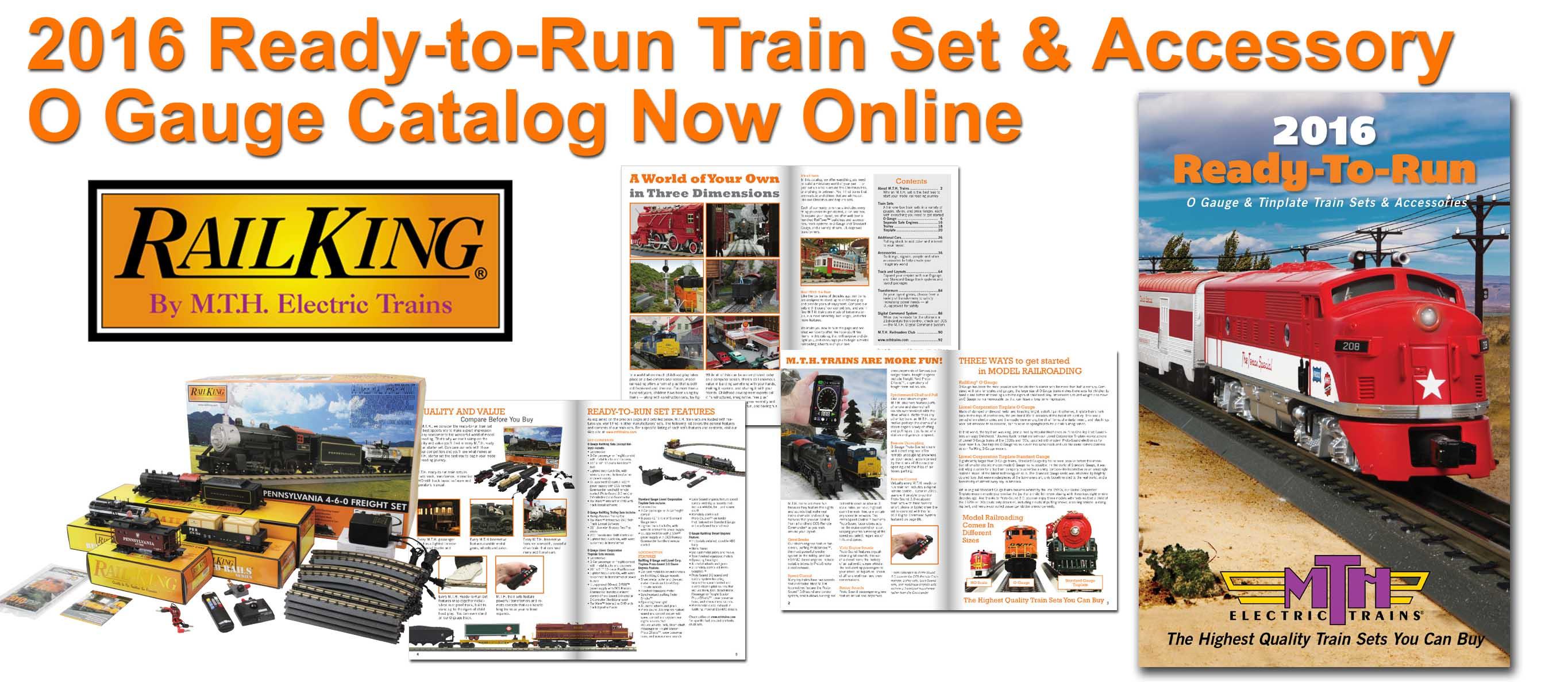 7e14ebd00f5b 2016 Ready-to-Run Train Set and Accessory Catalog Now Online