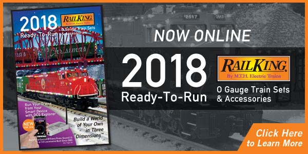 210ccb998b3d 2018 Ready-to-Run Train Set and Accessory Catalog Now Online