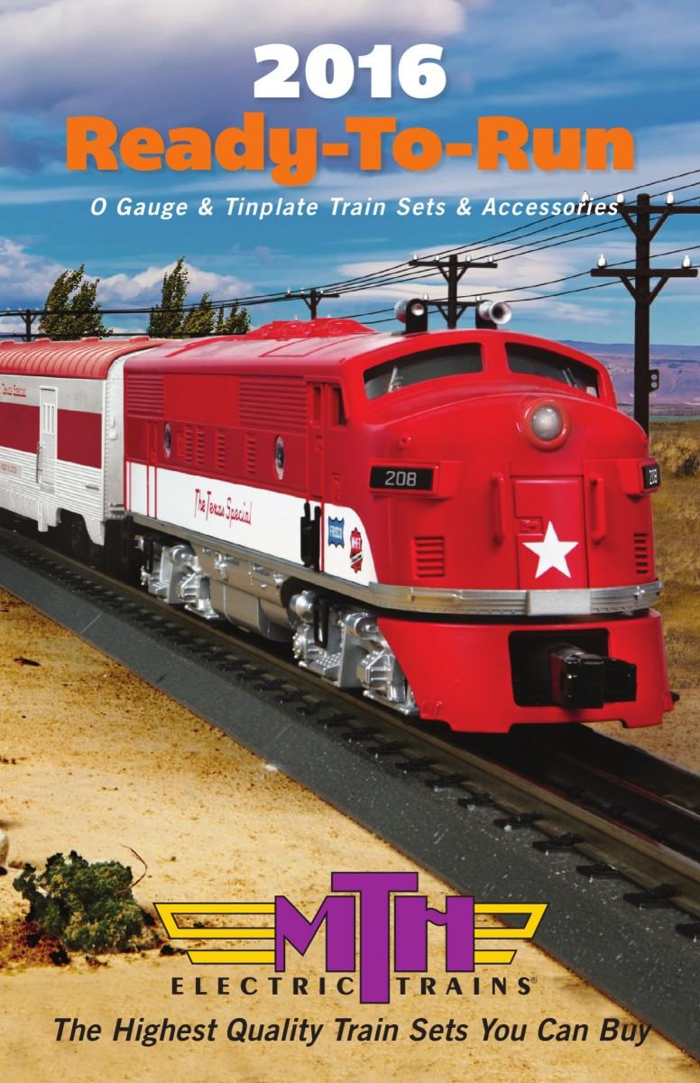 2016 ready to run train set and accessory catalog
