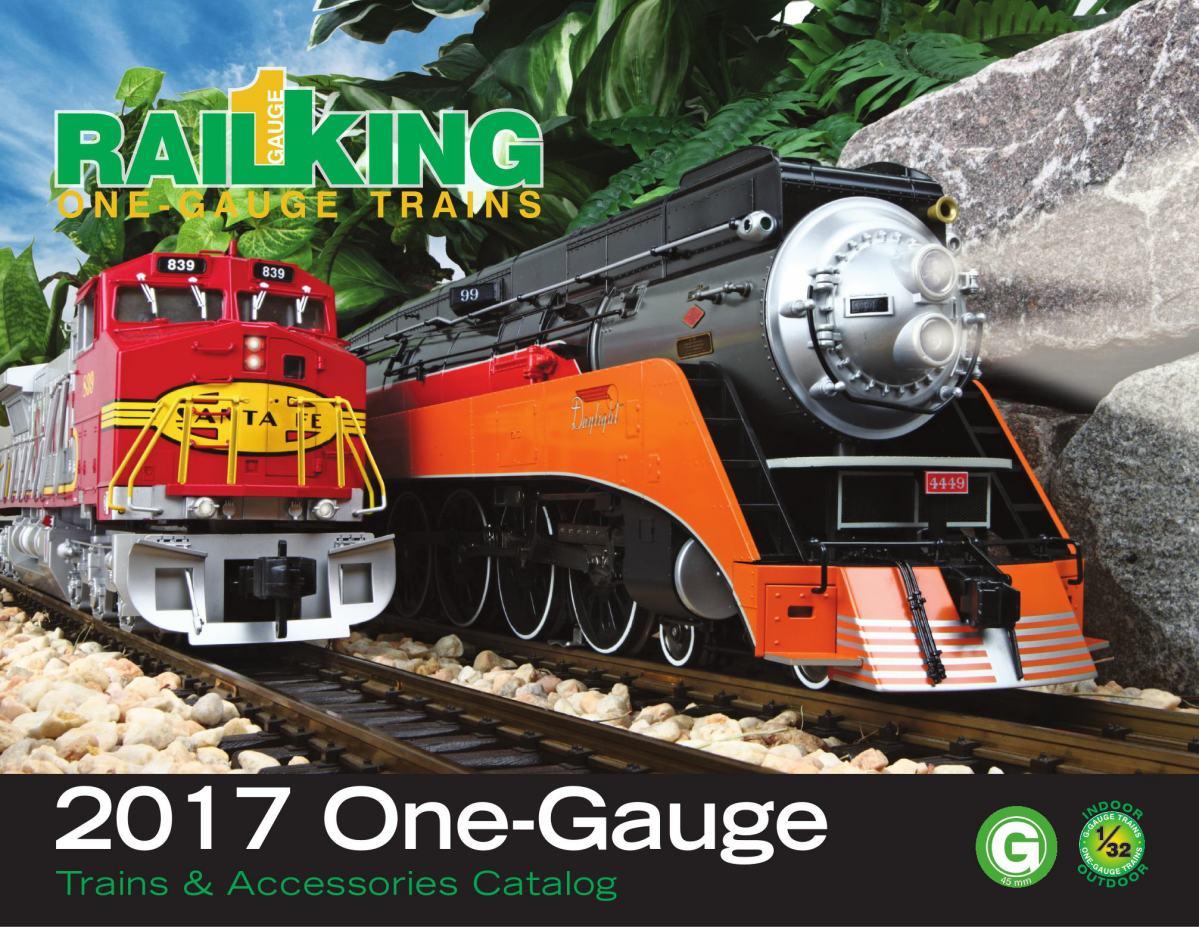 2017 RailKing One Gauge G Scale Catalog