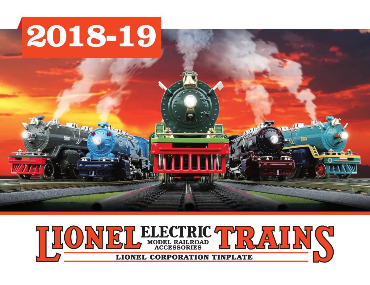 7e6d9132 2018-19 Lionel Corporation Tinplate Catalog