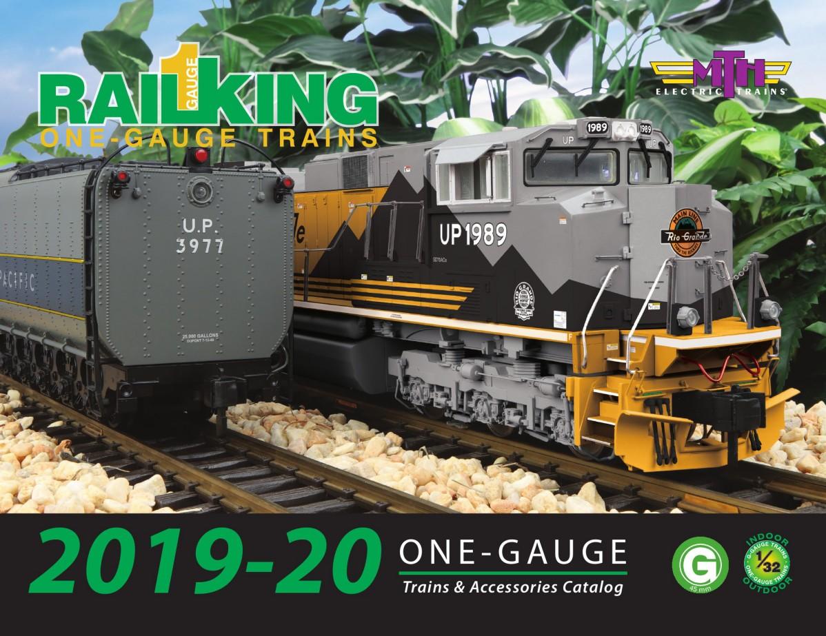 2019 RailKing One Gauge G Scale Catalog