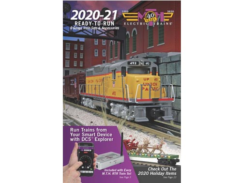 MTH Electric 2019 Ready-To-Run Catalog for RAILKING O Gauge Train Sets /& Acces.