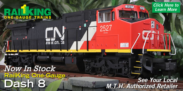 MTH Electric Trains G Gauge Newsletter - February 6, 2019