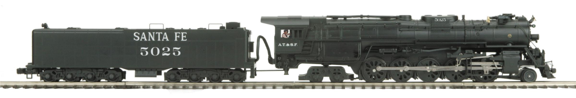 ATSF 5011 Class 2-10-4 Texas
