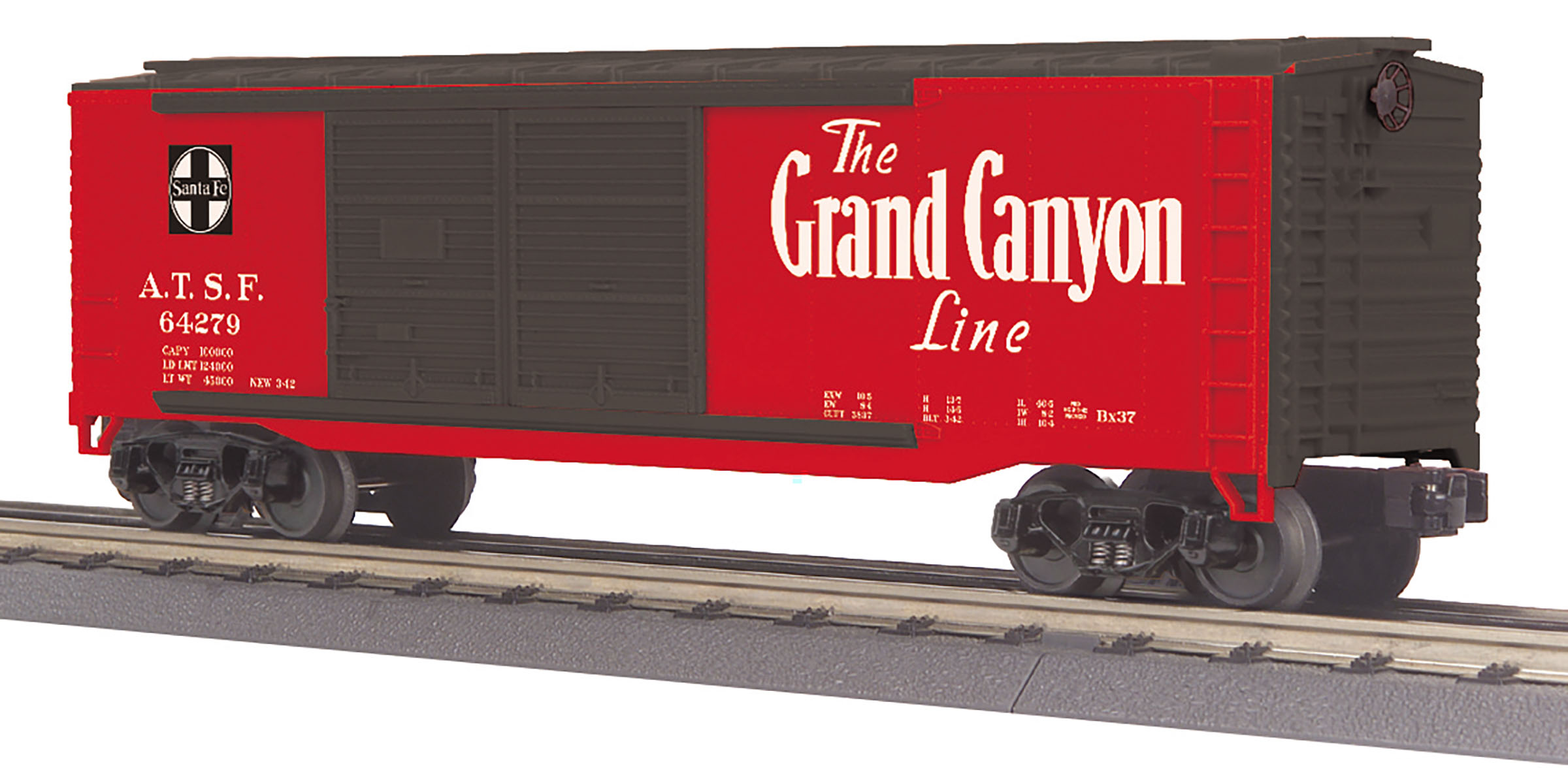 MTH 30-71006 O SF 40' Double Door Box Car