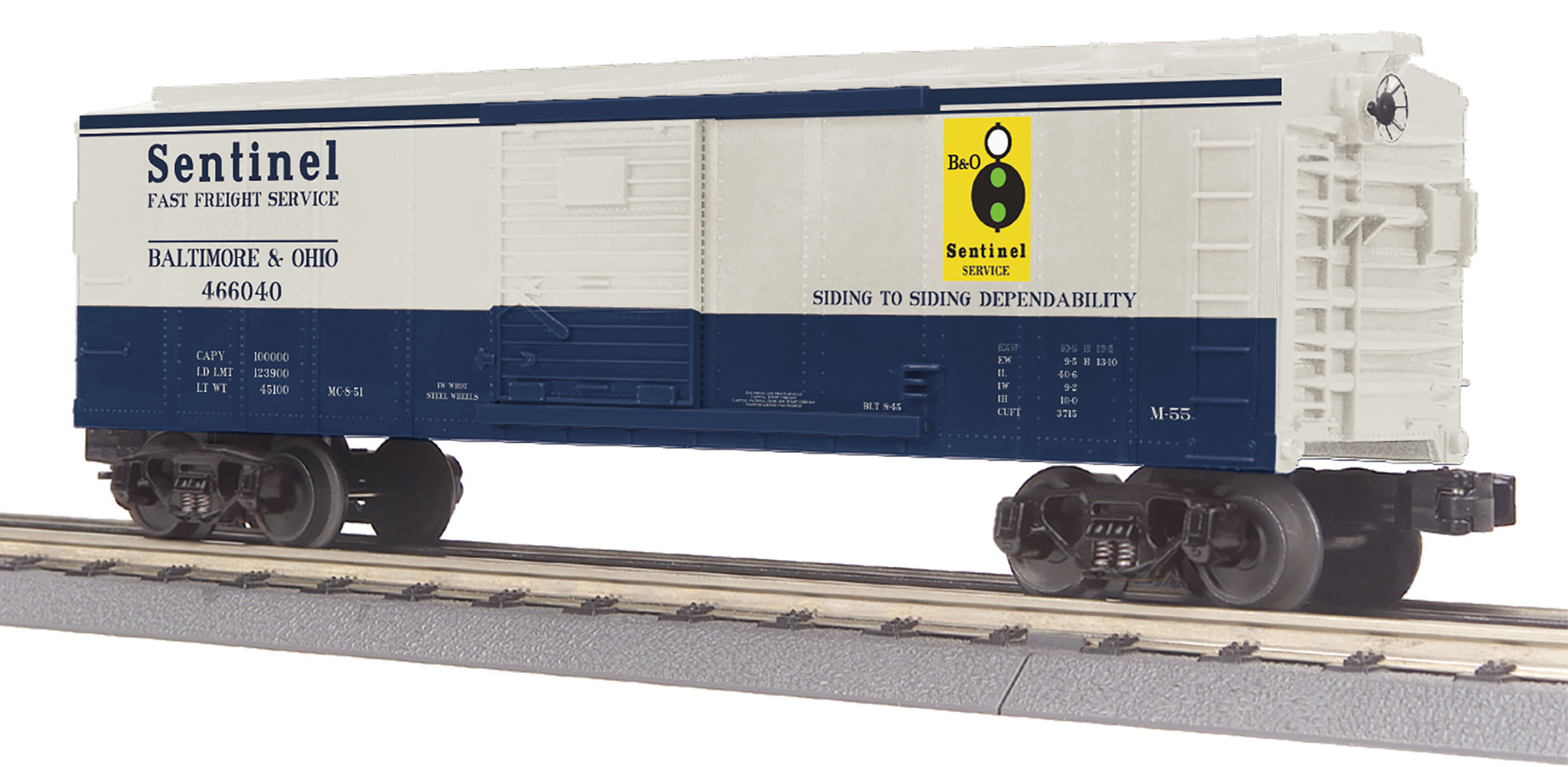 MTH 30-71014 O B&O Box Car 570-3071014