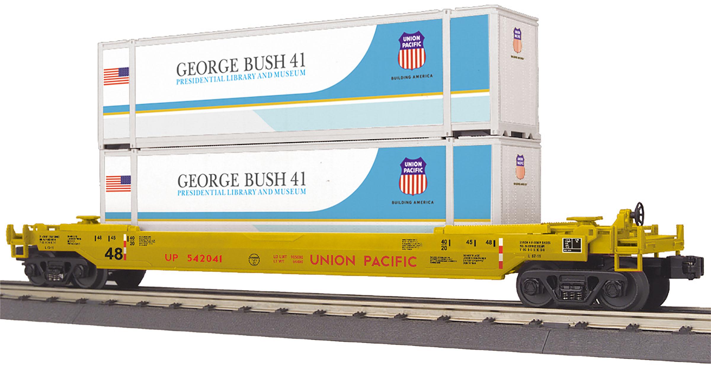 MTH 30-76799 O UP Husky Stack Car 570-3076799