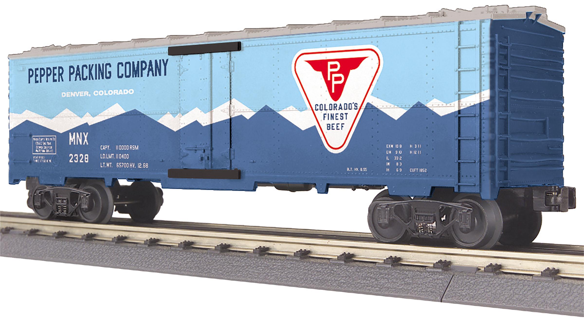MTH 30-78224 O Pepper Packing Modern Reefer Car